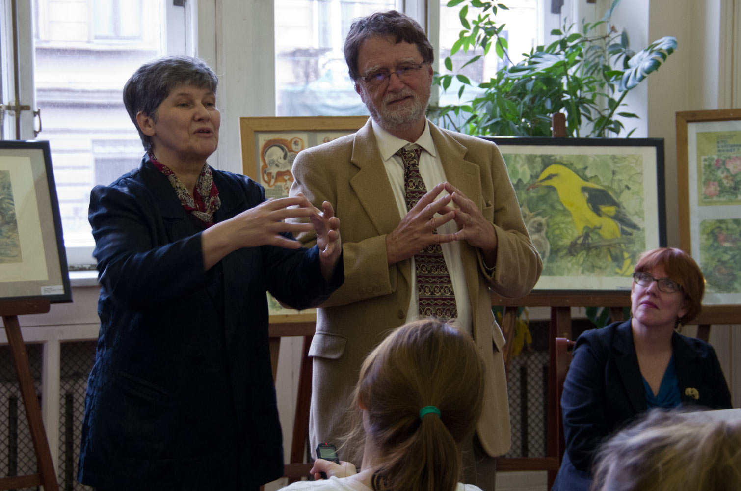 Встреча потомков колонистов с внуком доктора Рудольфа Тойслера ( Dr.Rudolf Teusler). 21 сентября 2015 года.